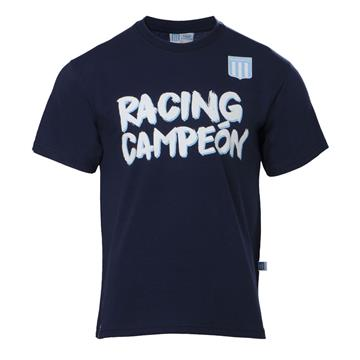 "REMERA ""RACING CAMPEON"" AZUL"