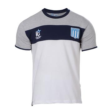 "REMERA COMBINADA GRIS ""18"" SUPERFUTBOL"