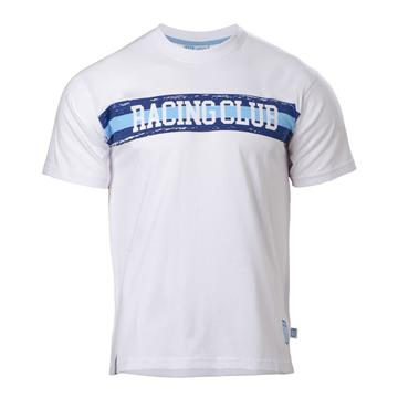 REMERA RACING CLUB 3 LINEAS