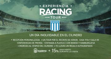 EXPERIENCIA RACING TOUR NO SOCIO (GODOY CRUZ)
